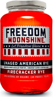 Freedom Moonshine Firecracker Rye 750ml - Case of 12
